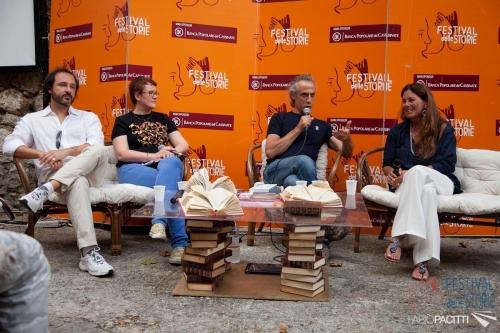 Al Festival delle Storie in Val di Comino con Marco Vichi, Marina Mander e Divier Nelli. 27 agosto 2014